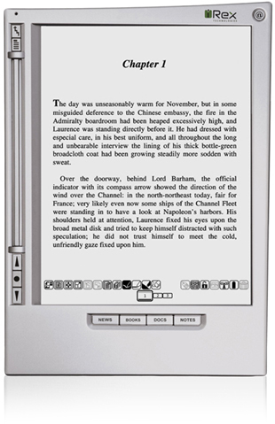 irex iliad ebook reader